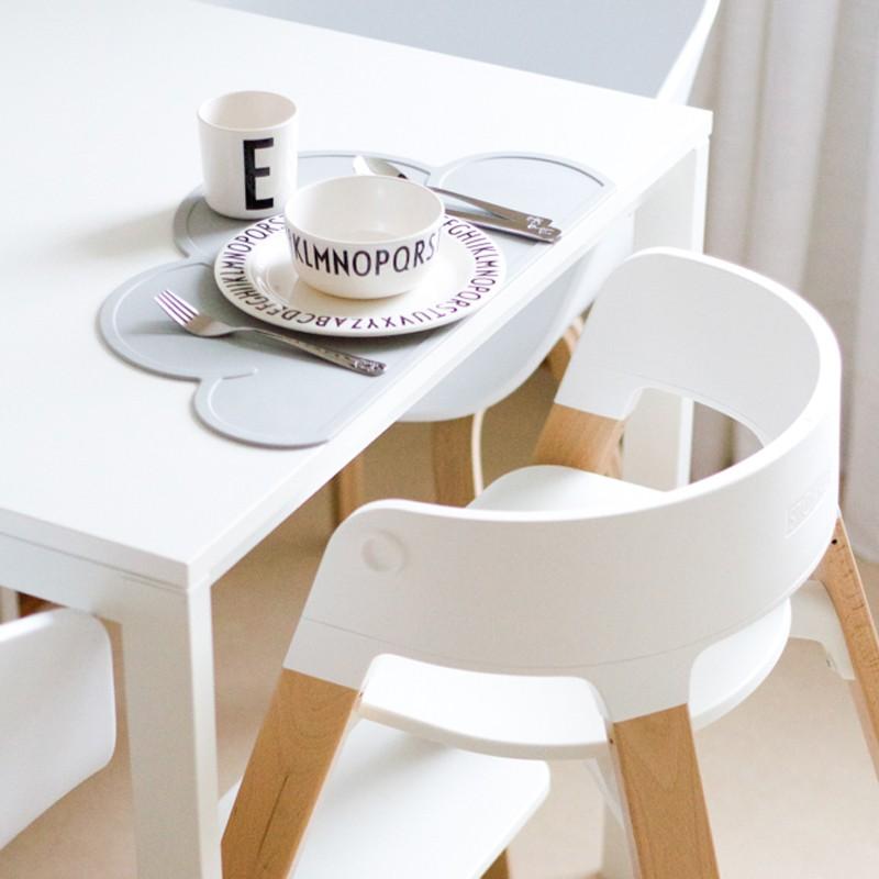 Tischset wolke weiss stadtlandkind for Tischset design