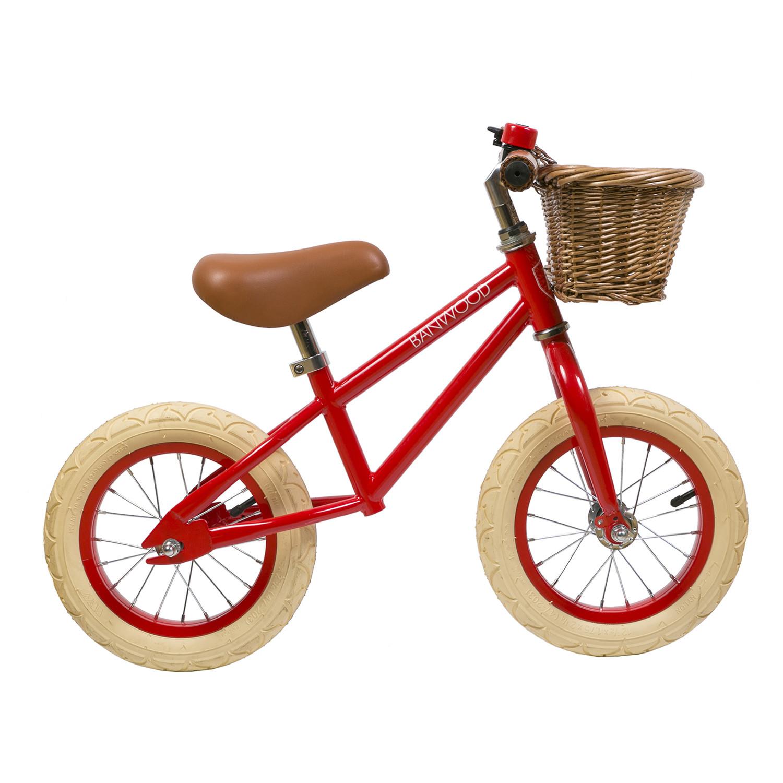 Fahrzeuge: Banwood Laufrad Rot